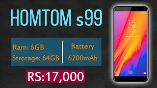 HomTom s99 Price in Pakistan | Full Review, Specifications & Features