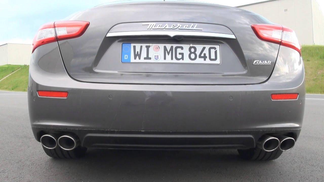 Maserati Ghibli Diesel acceleration 0 100 km h 0 60 mph Autogefühl