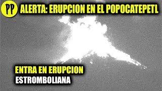 URGENTE: VOLCAN POPOCATÉPETL ENTRA EN ERUPCIÓN - #ULTIMAHORA #PepeEnVivo