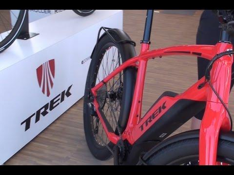 New Trek Electric Bikes Super Commuter Cross Rip