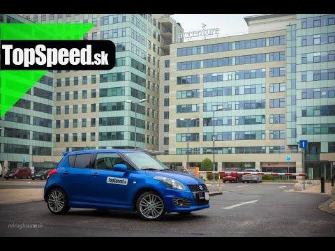 Test Suzuki Swift Sport 5dv II. gen.TopSpeed.sk