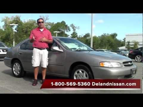 SOLD 1999 Nissan Altima GXE Sedan T115410A  YouTube