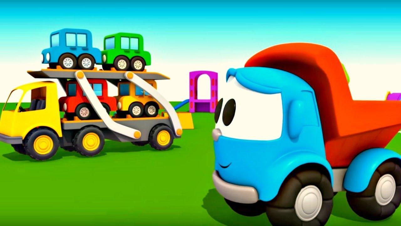 L o le camion curieux et ses amis compilation dessins - Dessin anime des tortues ninja ...