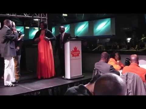 SALNAM Ebola Fundraising dinner, Winnipeg, Canada  November, 2014   Abu Bakarr Kamara's speech