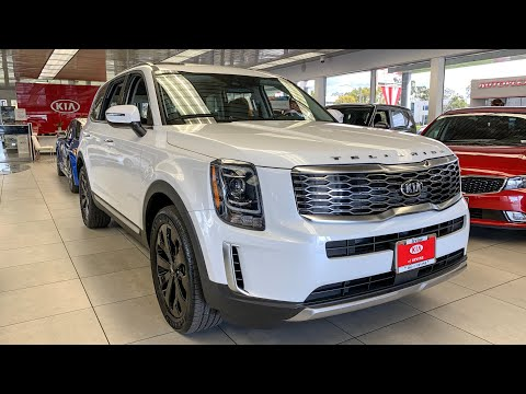 The New KIA TELLURIDE SUV Interior&Exterior Tour - Better than Hyundai Palisade??