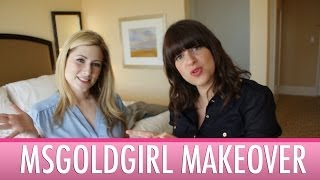 MsGoldgirl gets a celebrity makeover!!!!!!!! | Jamie Greenberg Makeup Thumbnail