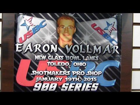 Earon Vollmar #1~ 900 Series ~ Bowling ~ USBC ~ Super Bowling ~ Insights ~ Links