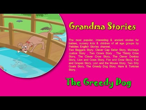 The Greedy Dog | Grandma Stories Gujarati For Kids HD | Dadimaa Ni Varta | Gujarati Stories