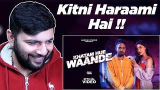 Pakistani Reacts to EMIWAY - KHATAM HUE WAANDE (Prod.YOKI) (OFFICIAL MUSIC VIDEO)