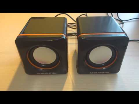 Manhattan 2600 Portable Speakers Review