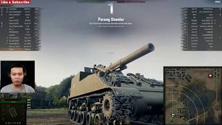 Pindah dan Tembak || M40/M43 || World of Tanks Indonesia