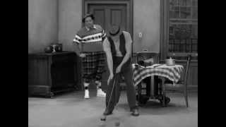 Hello, ball!   Honeymooners Golf Scene