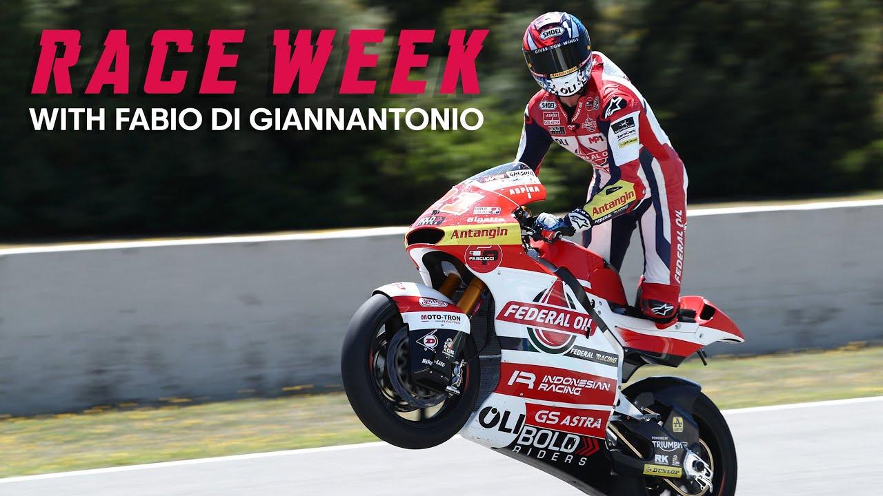 MotoGP Mugello 2021| Race Week - Fabio Di Giannantonio's Home GP