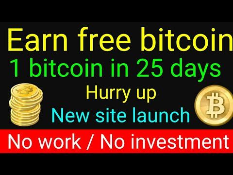 (New site) How to earn 1 bitcoin every month