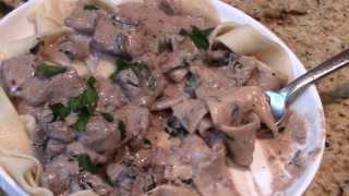~decadent Linda's Pantry  Stroganoff With Homemade Pasta~