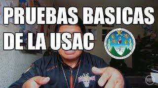 EXAMENES BASICOS DE LA USAC / CONSEJOS-TIPS / DANIEL AROCHE