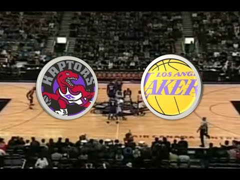 2000 NBA - Toronto Raptors vs Los Angeles Lakers
