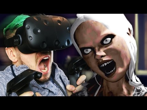 I'M NOT READY FOR THIS | Emily Wants To Play VR (HTC Vive Virtual Reality)