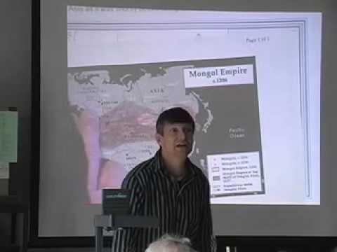 'The Mongol Impact on World History' - Ed Vajda, WWU