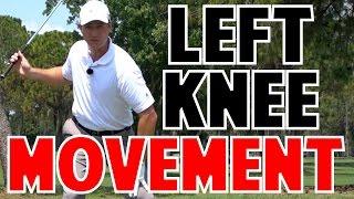 Golf Swing | Left Knee Movement is Key
