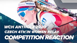 A bittersweet taste was left in eva puskarcikova kristejn's mouth after anchoring her team to 4th place the ibu world championships women's relay at antho...