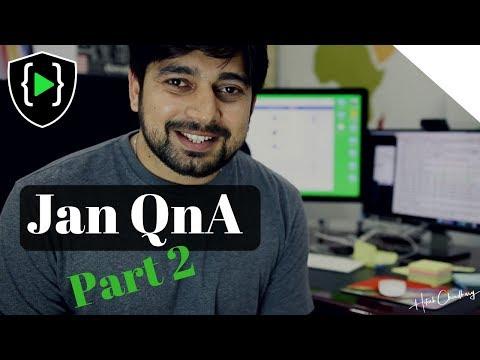 Jan QnA part 2 block chain, Modi question, docs and more