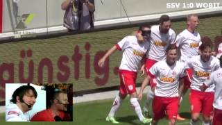 SSV Jahn Regensburg - VfL Wolfsburg II (2:0) - S15/16 - Turmfunk Highlights
