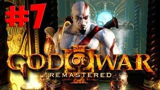 God of War 3 Remastered. Прохождение. Часть 7 (Секс с Афродитой и сисястая принцесса) 60fps