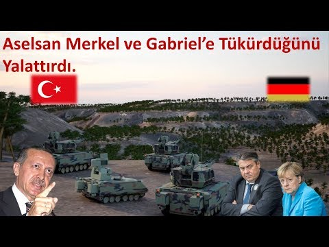 Aselsan Merkel ve Gabriel'e Tükürdüğünü Yalattırdı.