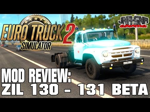 ETS 2 MODS REVIEW | ZIL 130 | EURO TRUCK SIMULATOR 2 MODS REVIEW