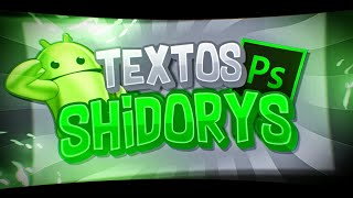 Textos Shidorys #21//PS Touch//AndroidEnergy