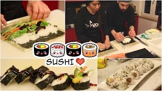 How to make simple and delicious Sushi at home!