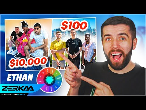 How I Planned The Sidemen $10,000 vs $100 Hotel Video