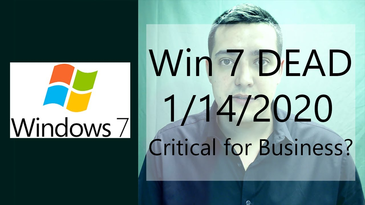 Windows 7 End of Life - Sierra Miles Group, LLC