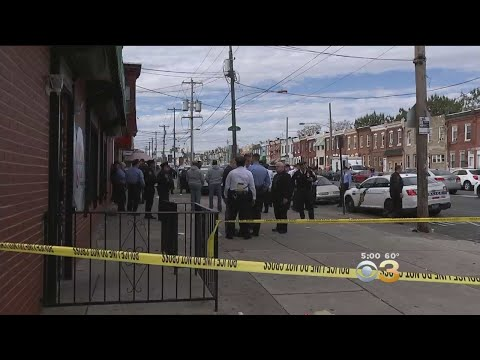Two Suspects In Custody After Philadelphia Police Officer Shot In Kensington