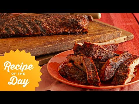 Recipe of the Day: Bobby's 5Star SpiceRubbed Smoked Ribs  Food Network