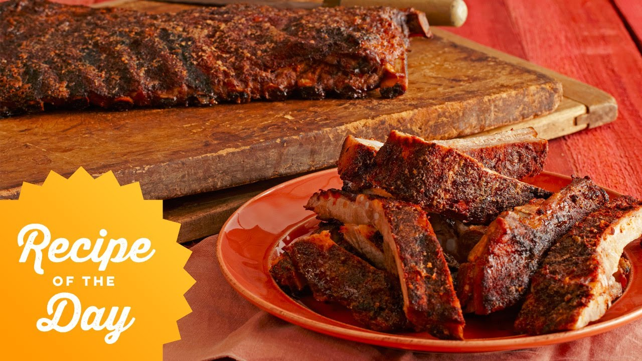 Recipe of the day bobbys 5 star spice rubbed smoked ribs food recipe of the day bobbys 5 star spice rubbed smoked ribs food network forumfinder Image collections