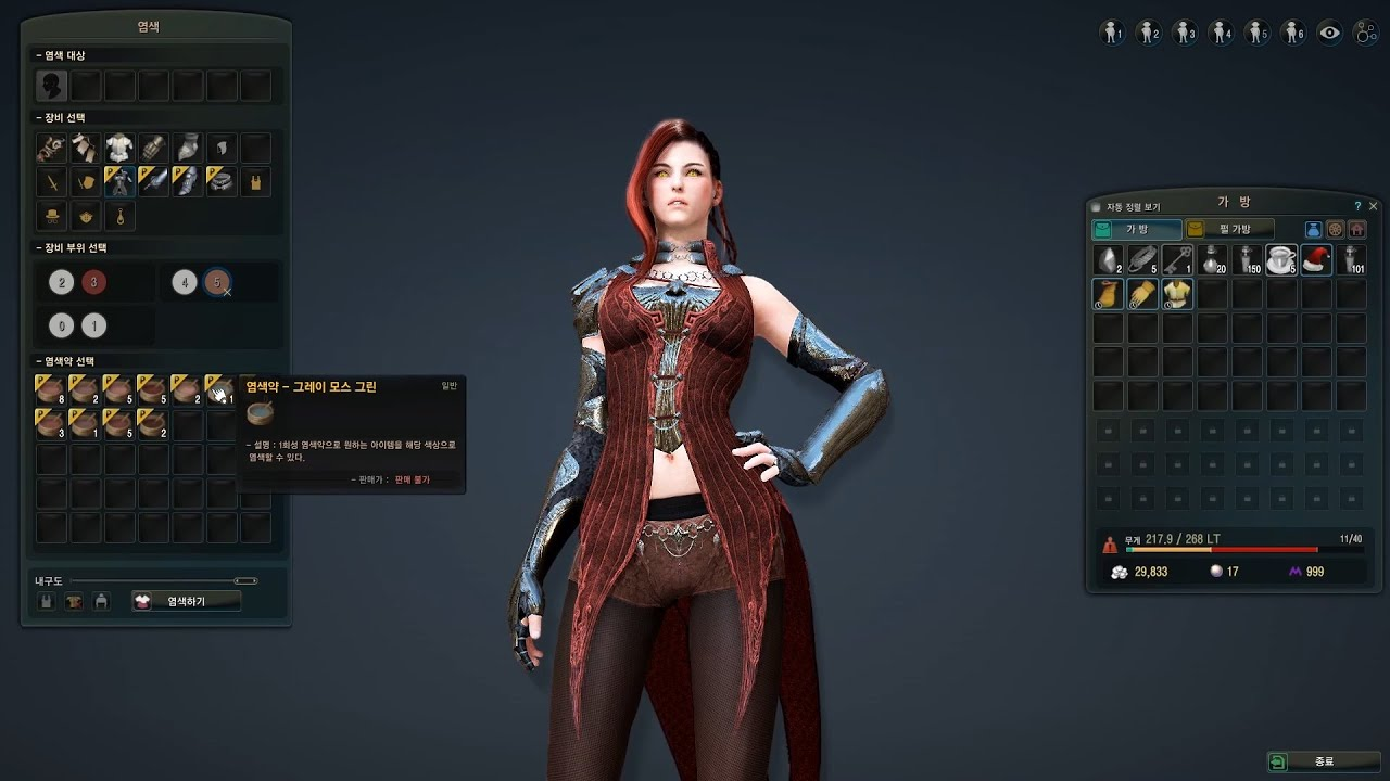Black Desert Crafted Costumes