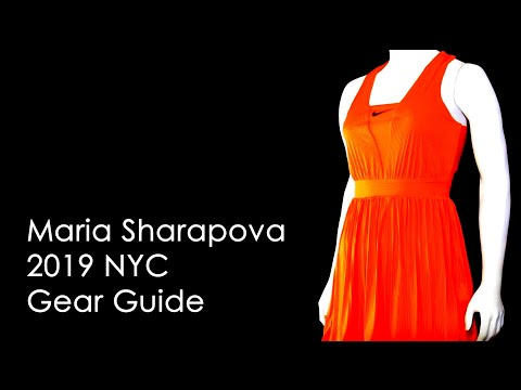 Maria Sharapova 2019 NYC Gear Guide | Tennis Express