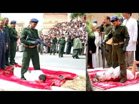 Yamani Man Publicly Executed For Murder And Rape Of child - HUNGAMA