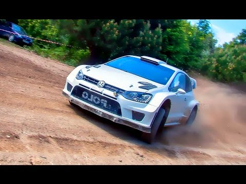 WRC Rally 2015 VW Polo R (Full Attack & Flat Out) HD