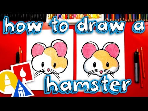 How To Draw The Cute Hamster Emoji 🐹