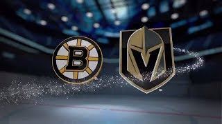 Boston Bruins vs Vegas Golden Knights - October 15, 2017 | Game Highlights | NHL 2017/18.Обзор матча