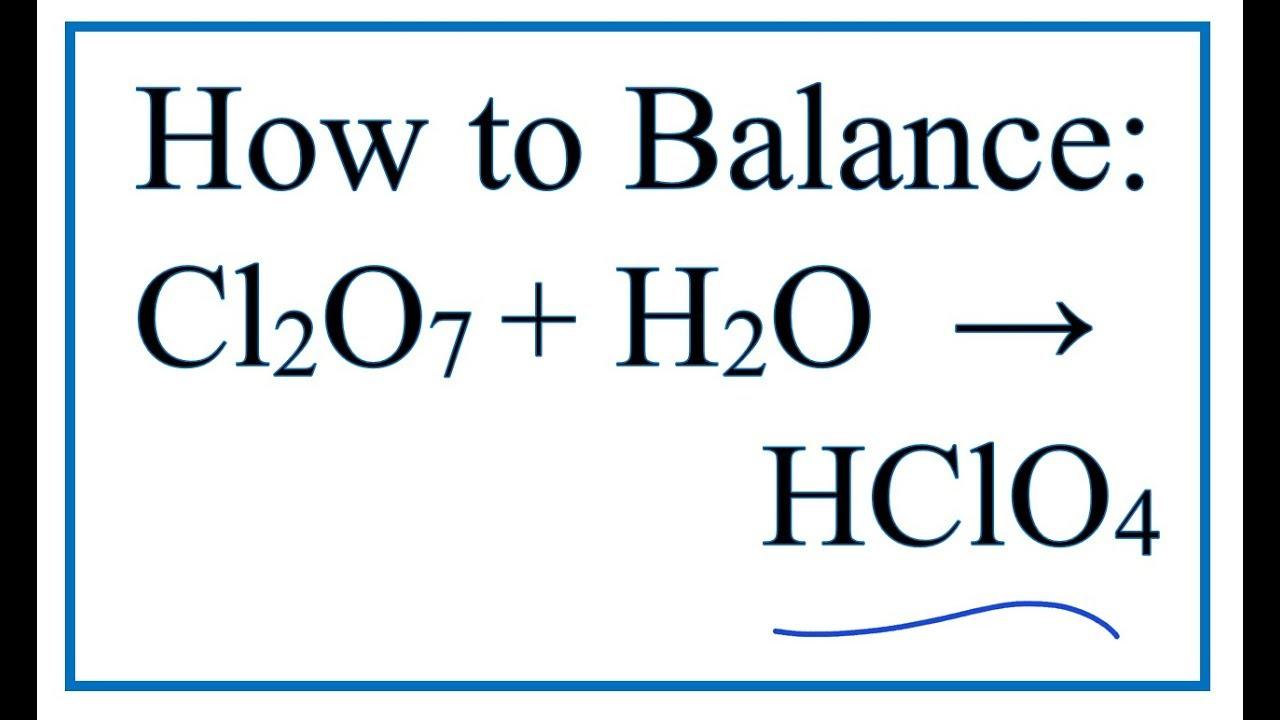 Hclo4