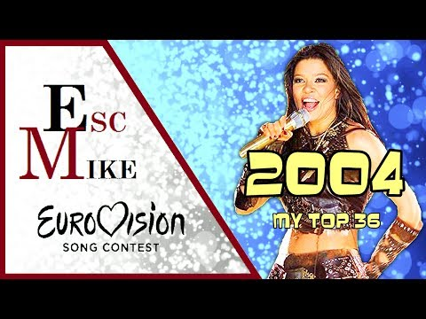 Eurovision 2004 - My Top 36 [With Rating]