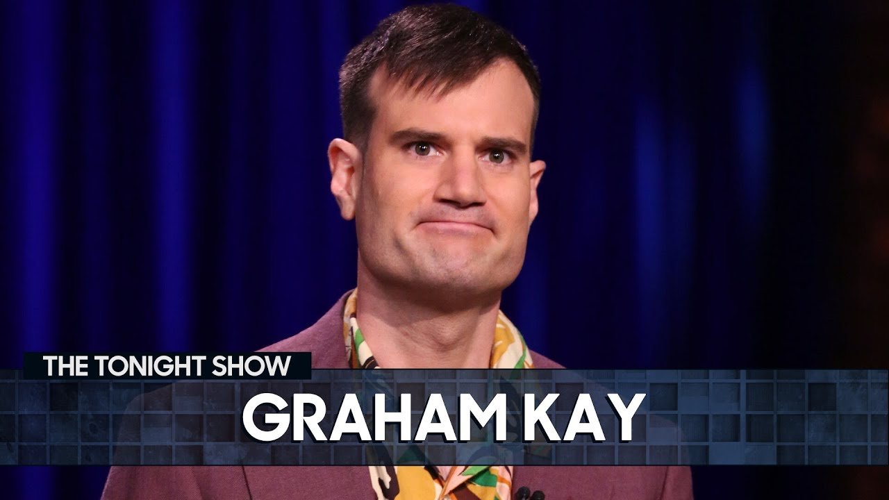 Graham Kay Made a Huge Mistake While House-Painting | The Tonight Show Starring Jimmy Fallon