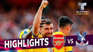 Arsenal vs. Crystal Palace: 2-3 Goals & Highlights | Premier League | Telemundo Deportes