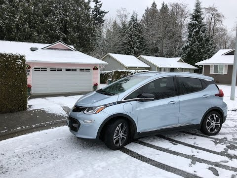 Exploring Seattle And Its Surroundings In The 2017 Chevy Bolt