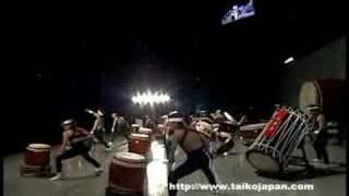 日本一決定戦・組太鼓の部 優勝 岡谷太鼓保存会 信濃神龍会(長野県)鼓戦(いくさ) Taiko Festival2008 Winner Okaya Taiko Hozonkai Shinano Shinryukai IKUSA.