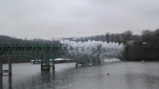 Hurricane Deck Bridge Demolition Part Two